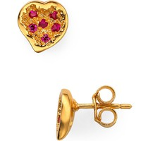 Melinda Maria Heart Pave Earrings | Bloomingdale&#x27;s