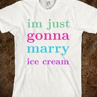 married to ice cream - Keep Calm &amp; Be a Mermaid