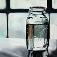 $35.00 print  Ball Jar III   8 1/2 x 11 print of original by brianataylor