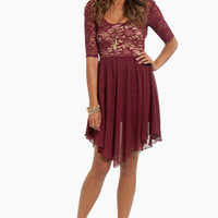 Backed Up Contrast Dress $44