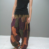 LIMITED EDITION Patchwork harem pant (LMHR 152.1)