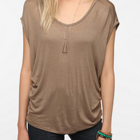 Daydreamer LA Drapey Scoop Back Tee