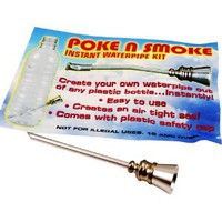 Amazon.com: Poke n' Smoke - Instant Water Pipe Kit: Everything Else