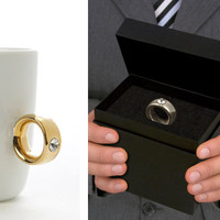 2 Carat Cup - Ring Around Your Finger Mug