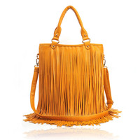 Fashion Handbag With Long Tassels on Luulla