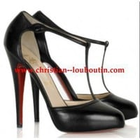 Christian Louboutin Catwoman T-bar shoes &amp;#36;199,distinguished shoes brand on-line shop, such as louboutins, Gianmarco Lorenzi, Alaia?Alexander McQueen.