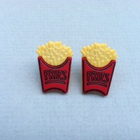 French Fries Earrings on Luulla