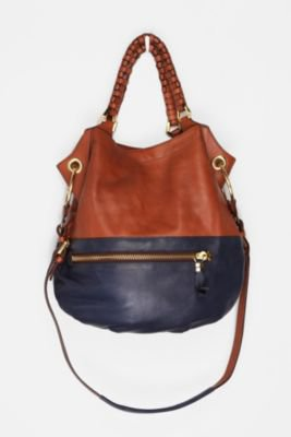 UrbanOutfitters.com &gt; Oryany Two-Tone Zip Satchel