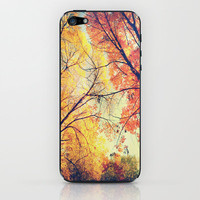 Autumn Embrace iPhone & iPod Skin by Ann B. | Society6