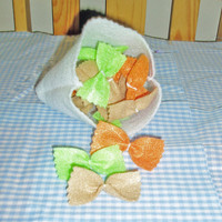 Felt Food Bow Tie Pasta - Farfalle Pasta Play Food Set
