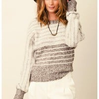 Chaser - Stripe Dolman Sweater