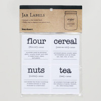 Jar Labels, Set of 12 | World Market