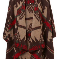 Aztec Blanket - Scarves - Accessories - Topshop USA