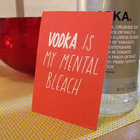 set of four 'mental bleach' postcards by the joy of ex foundation | notonthehighstreet.com