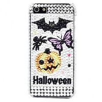 buy cheap Halloween Pattern with Diamond Surface Hard Case for iPhone 5 wholesale on China Gadget Land