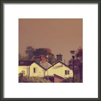 Newtown Buildings#town Framed Print By Alexandra Cook