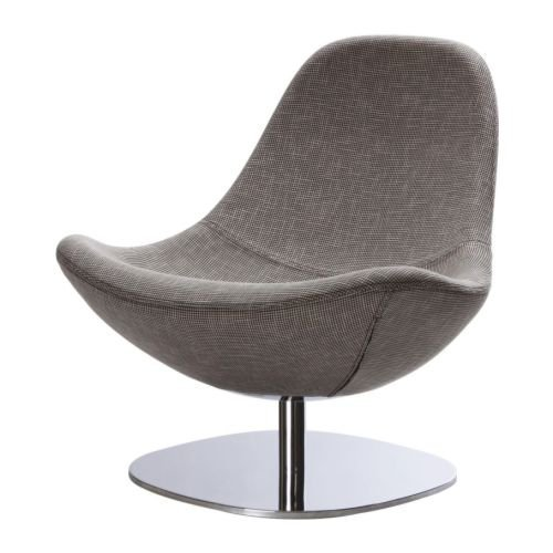 TIRUP Swivel chair, Eldris black/white