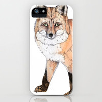 Fox iPhone Case by Sandra Dieckmann | Society6