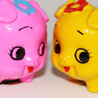 On Sale Now // Cute Neon Mini Piggy Banks