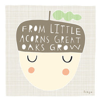 Little Acorns - Fine Art Print (Large)