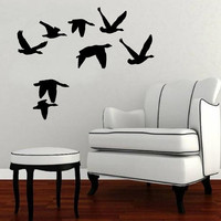 Wall Decal Flying Geese 2 Vinyl Wall Decal 22228
