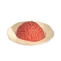 Human Brain Gelatin Mold Halloween Party...