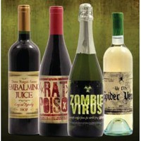 Halloween Wine Bottle Stickers (8 count) ($5.66)