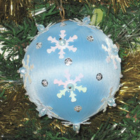 Sequoined Chrismas Ornament