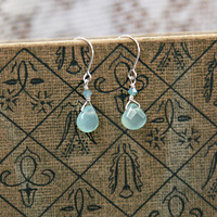 seafoam splendor indie earrings - $21.99 : ShopRuche.com, Vintage Inspired Clothing, Affordable Clothes, Eco friendly Fashion