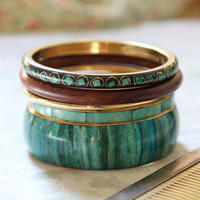 jordana river bangle set - $15.99 : ShopRuche.com, Vintage Inspired Clothing, Affordable Clothes, Eco friendly Fashion