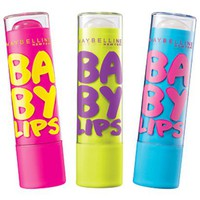Maybelline Baby Lips Lipbalm Collection