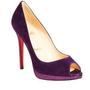 Christian Louboutin Yolanda purple pump - $235.00