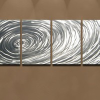 Metal Wall Art Abstract Decor Contemporary Modern by milesshay