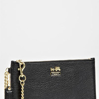 COACH &#x27;Madison&#x27; Leather Wristlet | Nordstrom