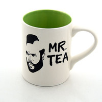 Mr T Mug Tea Cup Featuring Mr T