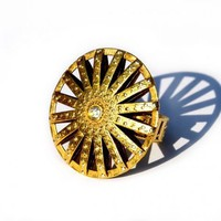 Sun God ring | Clovis