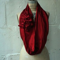 Autumn Le Cercle rouge Silk Cowl by artlab on Etsy
