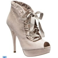 "Betsey Johnson ""Luvey"" Peep-Toe Booties 