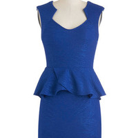 Cobalt Brilliance Dress | Mod Retro Vintage Dresses | ModCloth.com