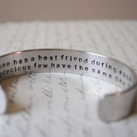 Best Friend Secret Message Cuff