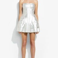 Herve Leger Bella Printed-Bandage Dress