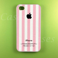 Pink Stripe W/ Apple Logo Iphone 4s.. on Luulla