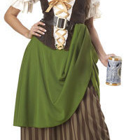 Tavern Maiden Costume - Medieval and Renaissance Costumes