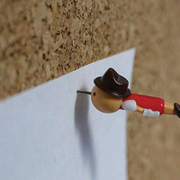 Pinocchio Thumb Tacks