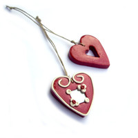 Heart Ornament, holiday decoration