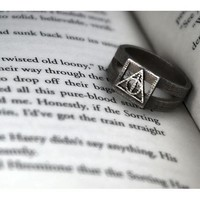 Deathly Hallows Ring Size 7