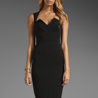 Black Halo Laurence Dress in Black