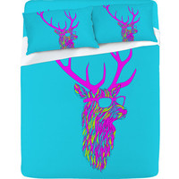 DENY Designs Home Accessories | Robert Farkas Party Deer Sheet Set