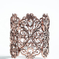 Proven Innocent Copper Bracelet - $18.00: ThreadSence, Women's Indie & Bohemian Clothing, Dresses, & Accessories