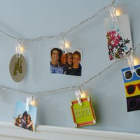 Clothespin String of Lights